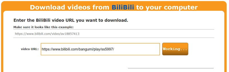 Download Bilibili Videos Using Online Downloader