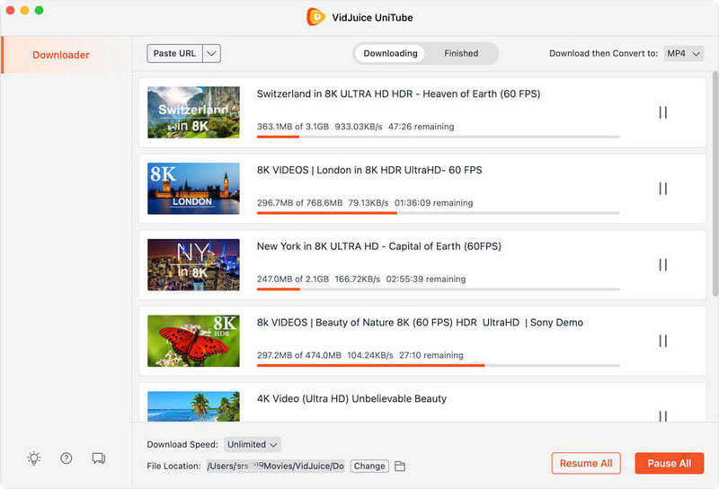 downloading media files